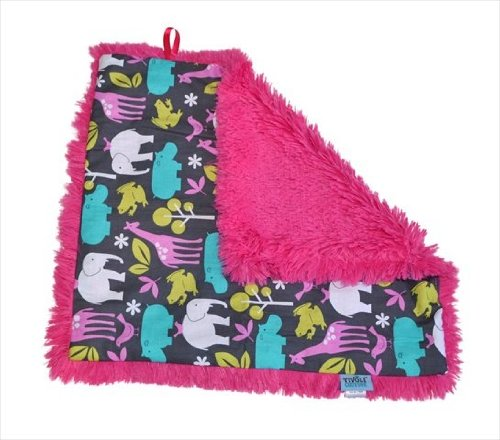 Tivoli Couture Slb 1091 Shag-E Lovie - Security Blanket, At The Zoo Pink front-918433