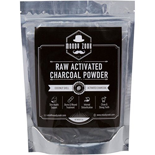 Activated Charcoal Powder By Moody Zook Premium Food