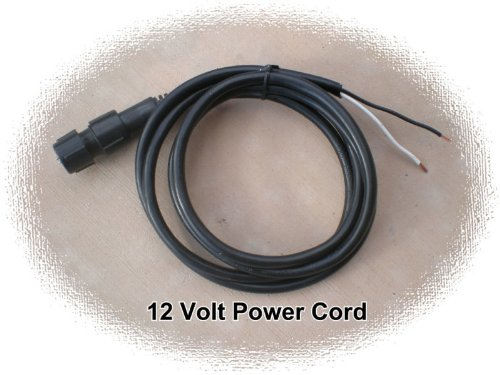 2 Wire Round 1/2 Inch Led Rope Light 12V Power Cord Dc