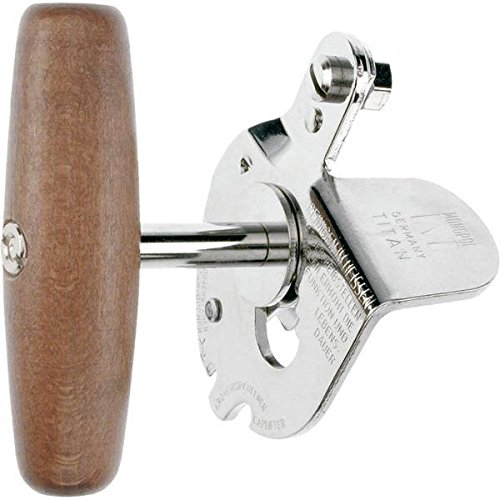 Westmark 12245560 Monopol Manual Can Opener with Sharp Blade Traction Wheel, Brown (Westmark Can Opener compare prices)