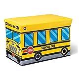 Kidoozie School Bus Toy Box