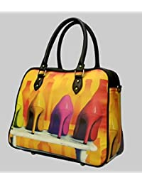 Digitally Printed Multi Stylish Cabin Carry Bags With Multi Pocket - B01ICTCU30