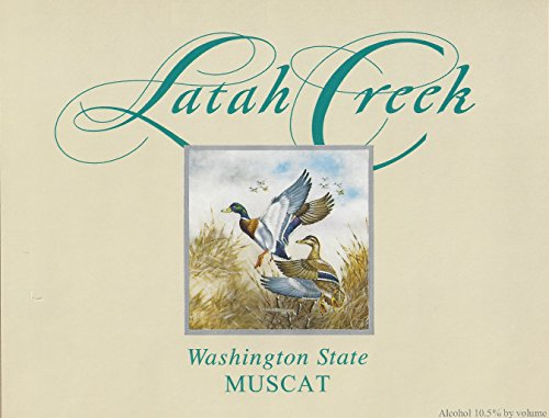 2012 Latah Creek Winery Hyatt Vineyards Muscat Canelli 750 Ml