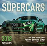 Supercars 2018: 16 Month Calendar Includes September 2017 Through December 2018
