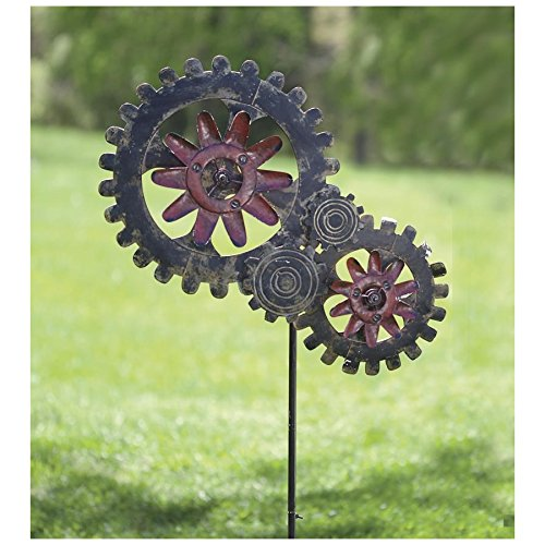 Wind-Powered Mechanics, in Red Gear