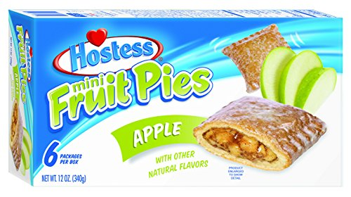Hostess Mini Fruit Pies, Apple, 6 Count (Pack of 6) (Cherry And Apple Pie compare prices)