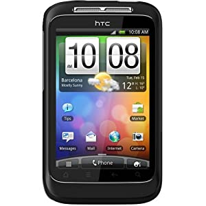 HTC Wildfire S Sim Free Mobile Phone - Black