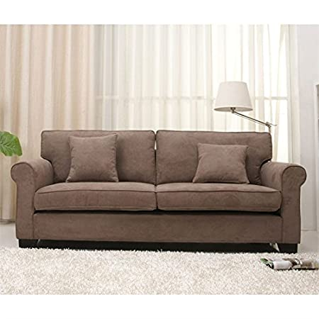 Gold Sparrow Pittsburgh Fabric Sofa in Stone