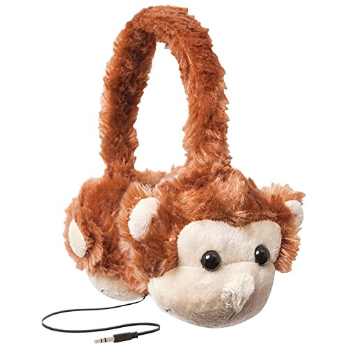 retrak-etaudfmnky-animalz-tangle-free-and-volume-limiting-85-db-over-ear-headphones-for-kids-monkey
