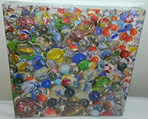 """Springbok Puzzle - Marbles! - 500 Pieces 20"""" X 20"""""""