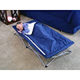 Regalo My Cot Deluxe, with Sleeping Bag, Navy