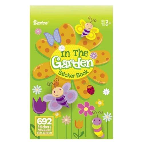 WeGlow International In The Garden Sticker Books, Set of 4