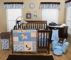 Best Seller My Little Cowboy 3PC Crib Bedding Set (Item# 106735)