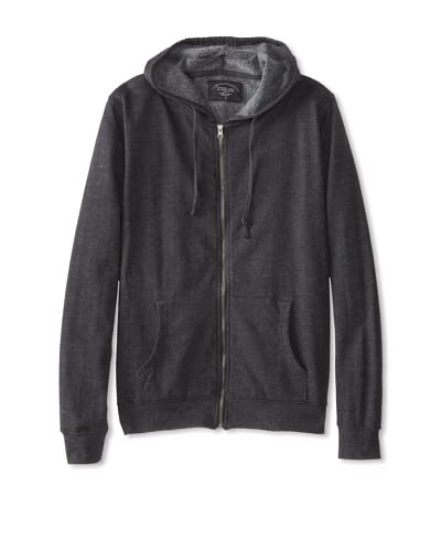 Threads For Thought Men's Solid Zip Sweatshirt