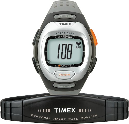 Timex Mid-Size Personal Trainer Heart Rate Monitor Watch T5G971