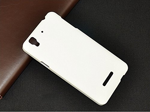 Koko Premium Rubberized Matte Hard Back Case Cover For Micromax YU Yureka-White