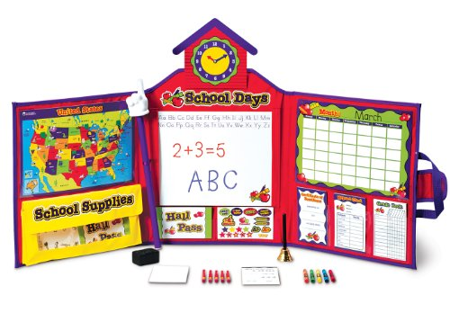 Learning Resources Pretend & Play School Set, Standard Packaging