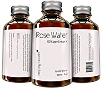 Pure Rose Water Facial Toner by Poppy Austin® - Organic, Hand Made & Responsibly Sourced Skin Toner - Finest, Triple Purified Rosewater - Voted one of Morocco's Best Skin Care Products 2016 - 4 fl oz