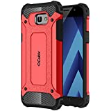 Galaxy A7 2017 Case Cubix Rugged Armor Case For Samsung Galaxy A7 2017 (Red)