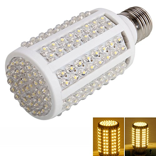 Corn Bulbs - E27 8W 166 Led 800 Lumen 3000-4000K Warm White Light Led Corn Light Bulb (110V)