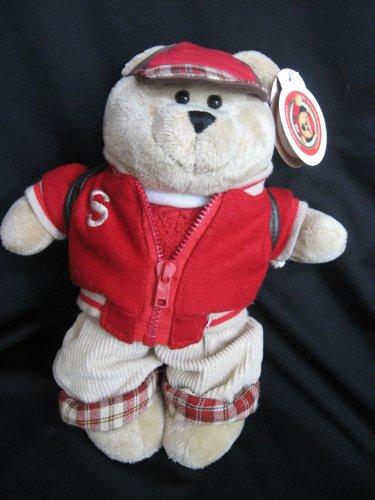 2004 Starbucks Bearista Back to School Bear