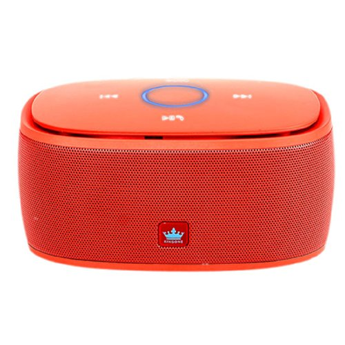 Kingone K5 Stereo Bluetooth Wireless Speaker With Tf Car Mp3 Player And Handsfree , Mini Portable Speaker For Cell Phone (Red)