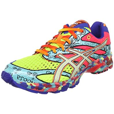 ASICS Men's GEL-Noosa Tri 6 Running Shoe,Neon Yellow/Glowing White/Oz Trip,15 M US