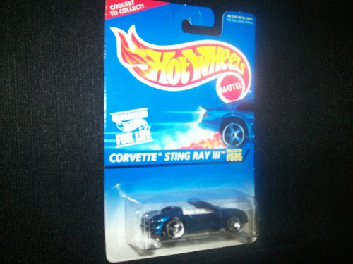 Hot Wheels Corvette Sting Ray III #595 - 1