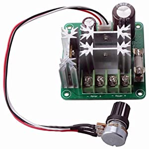 RioRand Upgraded RRCCMHCNSPC PLC 6V-90V 15A 1000W Pulse Width PWM DC Motor Speed Regulation Controller from RioRand