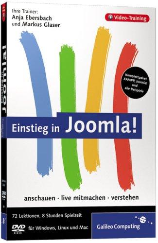 Einstieg in Joomla! Schritt für Schritt zur