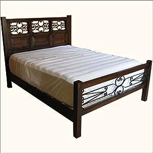 philadelphia decorative wrought iron queen size bed furniture decor. Black Bedroom Furniture Sets. Home Design Ideas