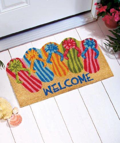 18″ X 30″ Flip Flops Doormat