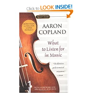 what to listen for in music aaron copland essay