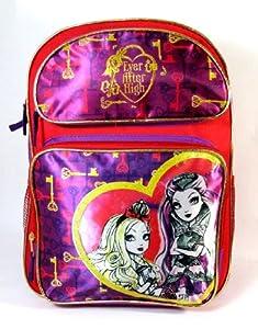 Mattel Ever After High 16 Inch Large Backpack School Bag- Raven Queen