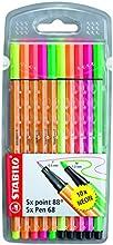 Comprar STABILO Pen 68 - Estuche combinado con 5 Pen 68 y 5 punta fina point 88