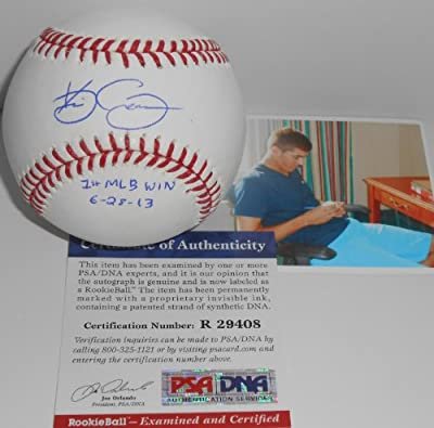 Kevin Gausman Baltimore Orioles PSA DNA ROOKIE COA Signed Autographed Baseball 1st Win