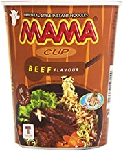 Mama Cup Beef Flavour Fideos Orientales Sabor a Ternera - 70 gr