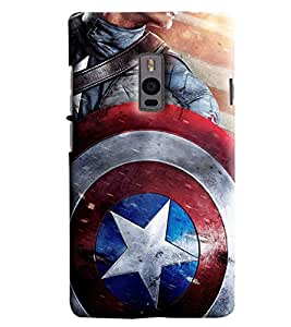 Blue Throat Star Man Cover Printed Designer Back Cover/Case For OnePlus 2