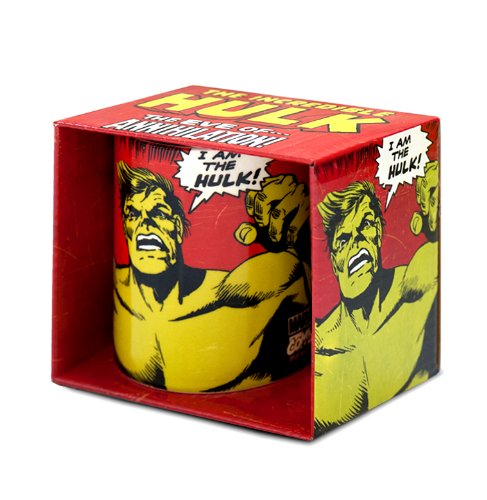 Hulk Tazza da caffè - Marvel Comics Tazza di porcellana - Stampa a colori - design originale concesso su licenza - LOGOSHIRT