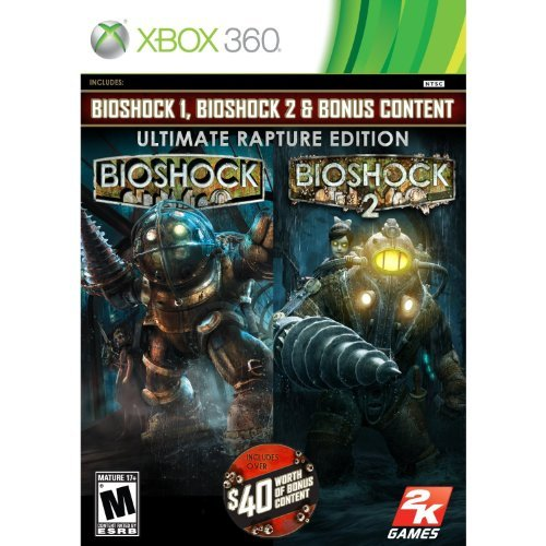 BioShock Ultimate Rapture Edition - Xbox 360 (Xbox One Consoles 2k Bundle compare prices)