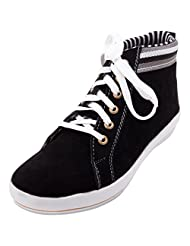 FBT Men's 10350 Black Casual Shoes