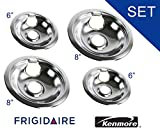 316048413 AND 316048414 OEM FRIGIDAIRE KENMORE BRAND DRIP PAN SET - INCLUDES (2) 6