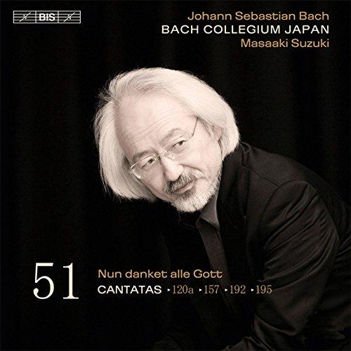 J.S.バッハ: カンタータ全集 Vo.51 (J.S.Bach : Cantatas Vo.51 / Masaaki Suzuki, BCJ) [SACD Hybrid] [輸入盤]