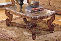 Big Sale Homelegance Tarantula Cocktail Table with Marble Top
