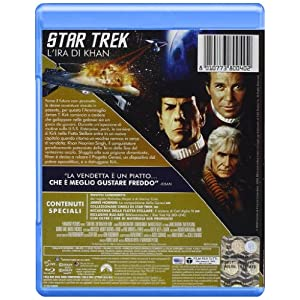 Star Trek 02 - L'ira di Khan [Blu-ray] [Import italien]