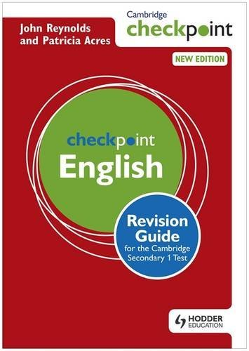 Cambridge Checkpoint English: Revision Guide for the Cambridge Secondary 1 Test