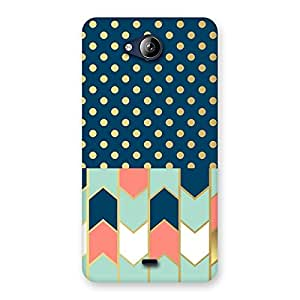 Premium Pattern Pastal Back Case Cover for Canvas Play Q355