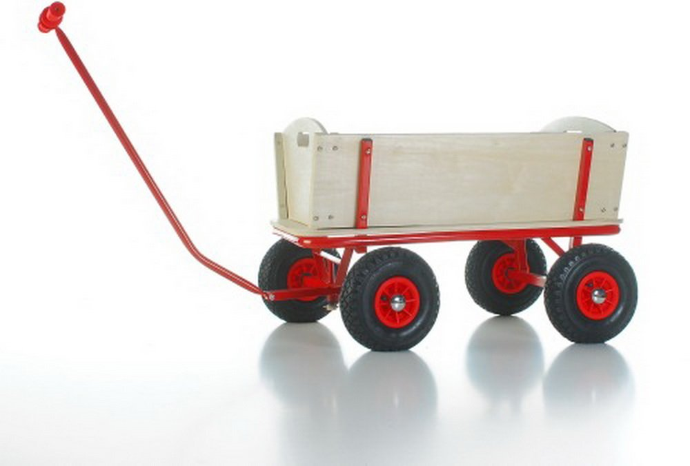 Bollerwagen m Bremse + Puppe Reifen, 1Stück günstig kaufen