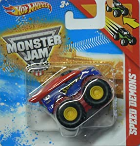 Hot Wheels Speed Demons Superman Monster Jam Hotwheels Pull Back Racer