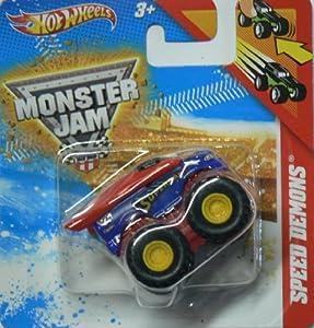 Hot Wheels Speed Demons Superman Monster Jam Hotwheels Pull Back Racer